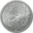 2 Francs (Union française) – revers