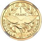 1 Franc (Piedfort or) – revers