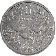 5 Francs (Essai) -  revers