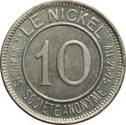 10 centimes (Le Nickel) – avers