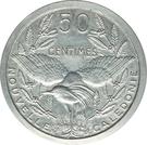 50 Centimes (Piéfort Essai) – revers