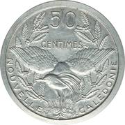 50 Centimes (Piedfort Essai) – revers