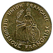 2 francs (Essai) – avers