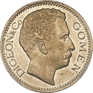 5 francs (Gomen) – avers