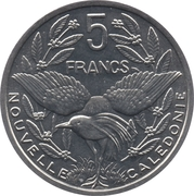 5 francs (IEOM) – revers
