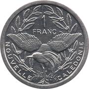 1 franc (IEOM) – revers