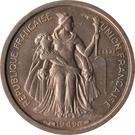 50 Centimes (Essai Bronze-nickel) – avers