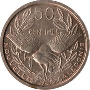 50 centimes (Essai Bronze-nickel) – revers