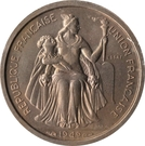 1 Franc (Essai Bronze-nickel) – avers