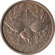 1 Franc (Essai Bronze-nickel) – revers
