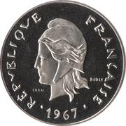 50 francs (Essai) – avers
