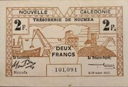 2 Franc – avers