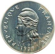 100 francs (Piéfort argent IEOM) – avers