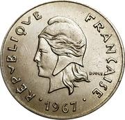 50 francs (sans IEOM) – avers