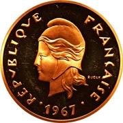 50 francs (Piéfort or) – avers