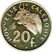 20 francs (Piéfort argent) – revers