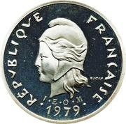 10 Francs (Piéfort argent IEOM) – avers