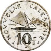 10 francs (Piéfort nickel) -  revers