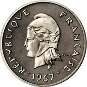 10 francs (Piéfort nickel) -  avers