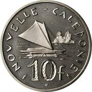 10 francs (Piéfort nickel) – revers