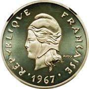 10 francs (Piéfort argent) – avers