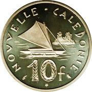 10 francs (Piéfort argent) – revers