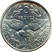 5 francs (Piéfort argent IEOM) -  revers