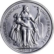 5 francs (Piéfort avec essai) – avers
