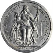 50 centimes (Piéfort Essai) – avers