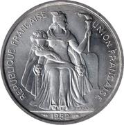 5 francs (Union française) -  avers