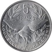 5 francs (Union française) -  revers