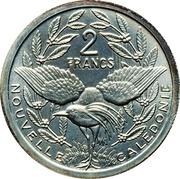 2 francs (Piéfort argent IEOM) -  revers