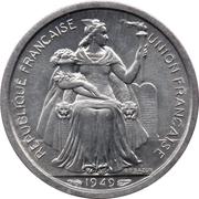 1 franc (Union française) – avers