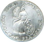 50 centimes (Essai aluminium, sans listel) – avers