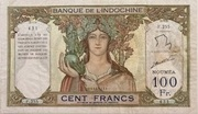100 Francs NOUMEA – avers