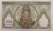 100 Francs NOUMEA – revers