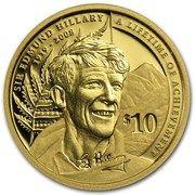 10 dollars - Elizabeth II (Sir Edmund Hillary) – revers