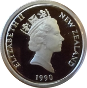 5 Cents - Elizabeth II (Traité de Waitangi) – avers