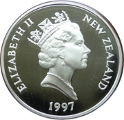 20 Dollars - Elizabeth II (Golden Wedding Anniversary) – avers
