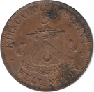 1 penny - Kirkcaldie & Stains (Wellington) – avers