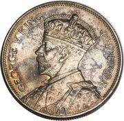 ½  couronne - George V – avers