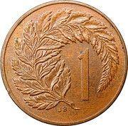 1 cent - Elizabeth II (3e effigie) – revers