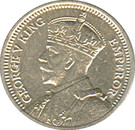 3 pence - George V – avers