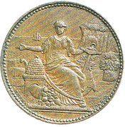 ½ Penny (Hurley, J. and Co. - Wanganui) – avers