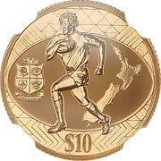 1 Dollar - Elizabeth II (Lions tour) 2005 – revers