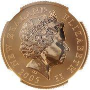 1 Dollar - Elizabeth II (Lions tour) 2005 – avers