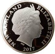 10 Dollars - Queen Elizabeth II (Kiwi austral) – avers