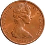 2 cents - Elizabeth II (2e effigie) – avers