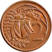 2 cents - Elizabeth II (2e effigie) – revers