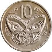 10 cents - Elizabeth II (2e effigie) -  revers